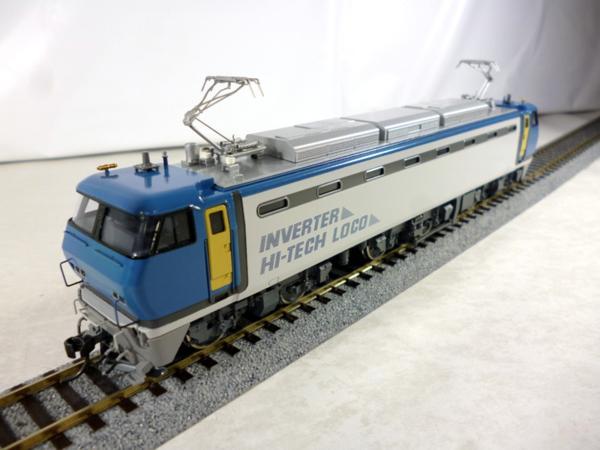 エンドウ|TERの鉄道模型は重厚感のあるブラスの車両に独特の色合い