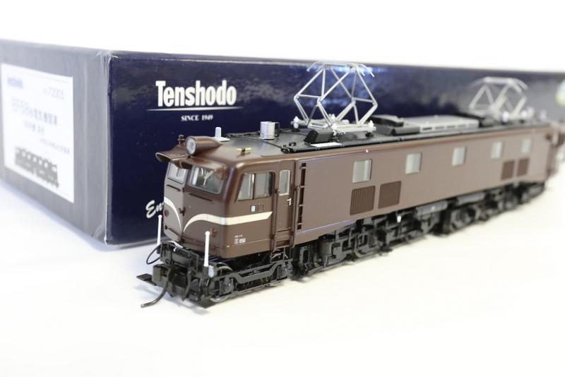 天賞堂の鉄道模型は重厚感があります。