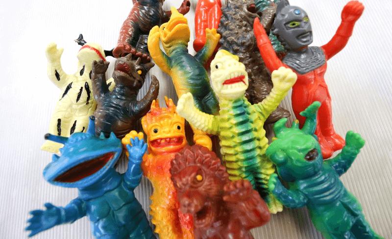 大里玩具 ソフビ 買取 当時物 怪獣 怪人