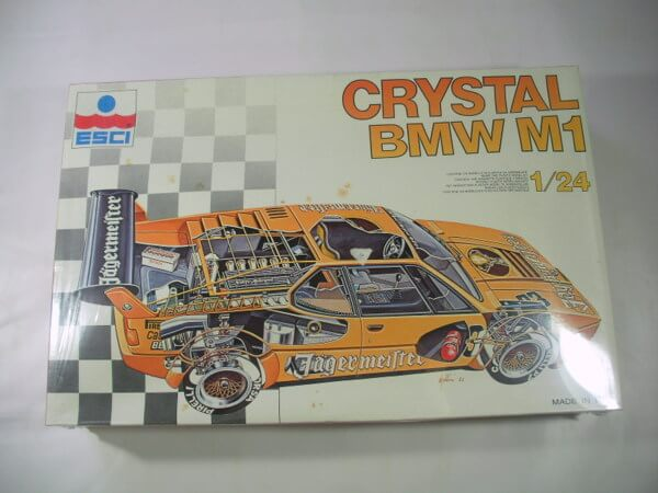 エッシー 1/24【CRYSTAL BMW M1】3045
