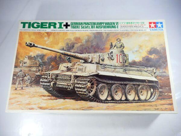 タミヤ 1/35 ドイツ 重戦車 タイガーⅠ #RE-140