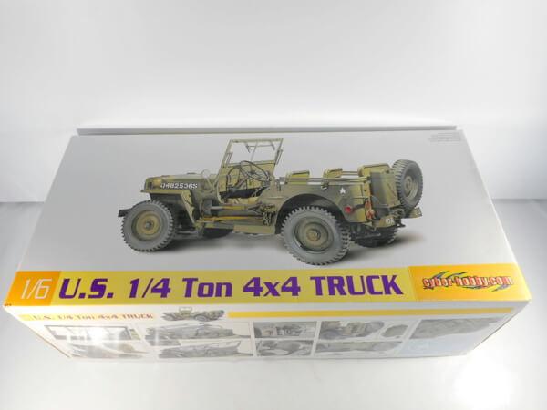 サイバーホビー 1/6 U.S. 1/4トン 4×4 トラック #75020