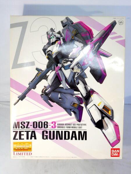 MG 1/100 【ゼータガンダム3号機 可変型試作モビルスーツ MSZ-006-3】