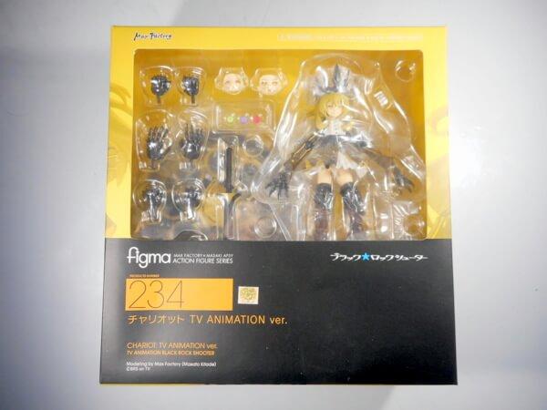 figma ブラックロックシューター チャリオット TVアニメver. 234