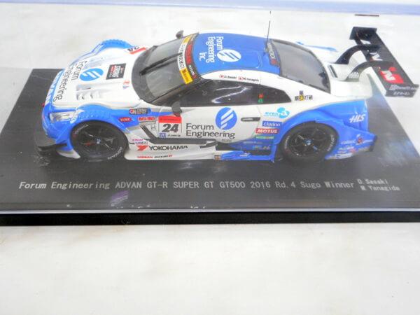 エブロ 1/43 【フォーラム エンジニアリング ADVAN GT-R GT500 `2016】#24
