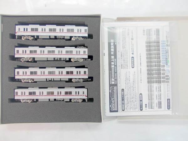 グリーンマックス 4230 東武30000系 東上線 基本4両編成セット