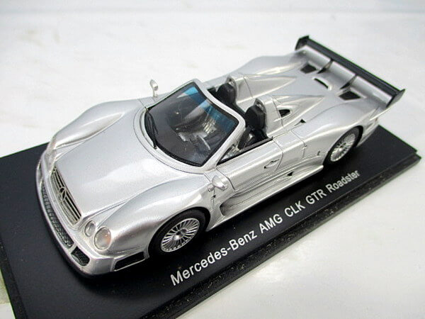 スパーク 1/43【メルセデスベンツ AMG CLK GTR ロードスター】S0163