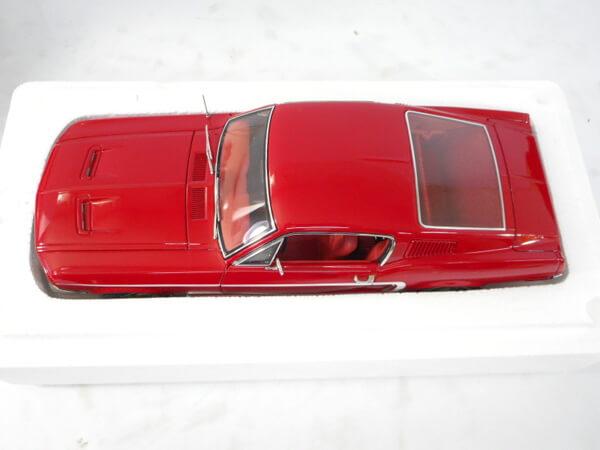オートアート 1/18【フォードマスタング GT300 `68 レッド】#72801