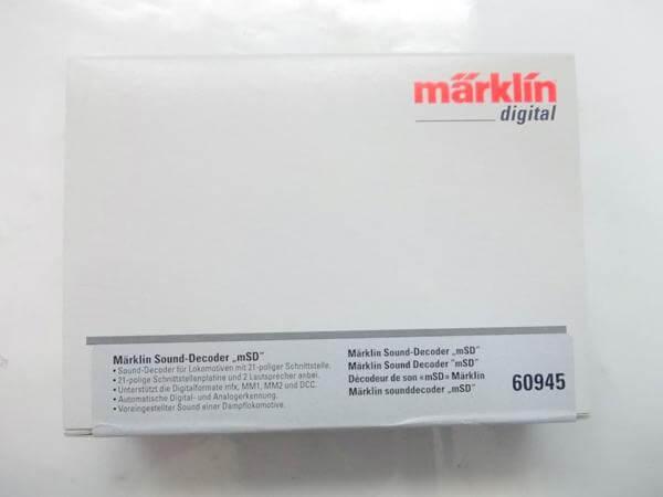 メルクリン サウンドデコーダー コンバージョンセット #60945
