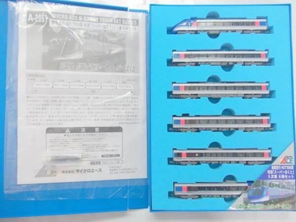 マイクロエース A2051 智頭急行 HOT7000系 特急「スーパーはくと」5次車 6両セット