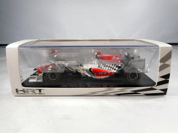 スパーク 1/43 【HRT F111 #22 BelgiumGP 2011】#S3028