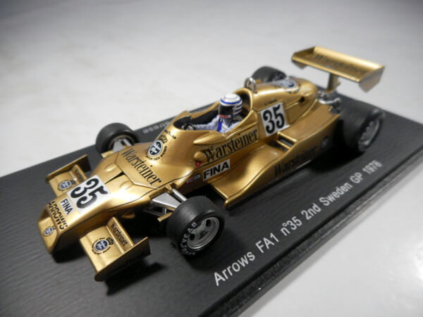 スパーク 1/43 【Arrows FA1 #35 2nd SwedenGP 1978】#S3902