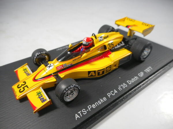 スパーク 1/43 【ATS-Penske PC4 #35 DutchGP 1977】#S3373