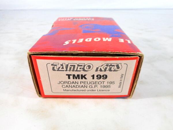 タメオ 1/43 【ジョーダンプジョー カナディアンGP `1995】#TMK199