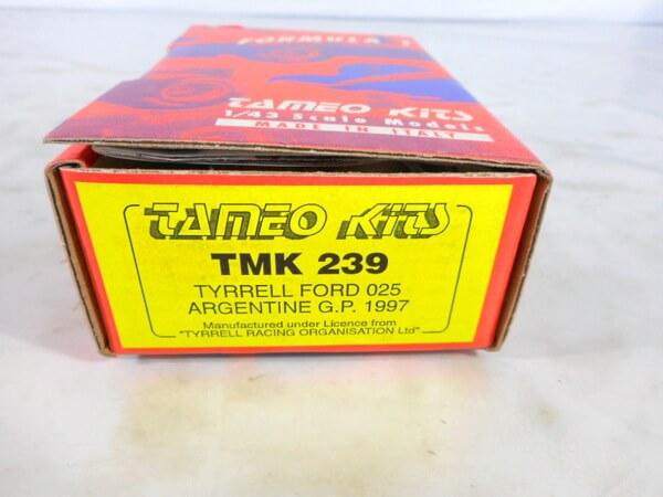 タメオ 1/43 【ティレル フォード 025 ARGENTINE GP `1997】#TMK239
