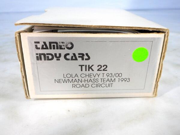 タメオ 1/43 【LOLA CHEVY T93-00 NEWMAN*HASS TEAM 1993】#TMK22