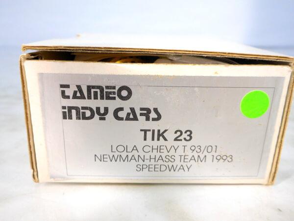 タメオ 1/43 【ウィアムズルノー JUDO FW12 ブラジリアンGP `1988】#TMK71 メタルキット