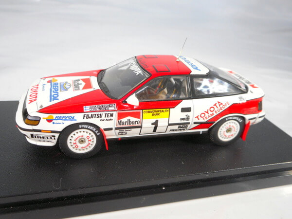 hpi 1/43 【トヨタ セリカ GT-Four #1 `1989 オーストラリア】#8084