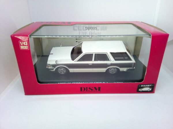 DISM 1/43【Y30 セドリック バン 後期型 V20E Deluxe 1999
