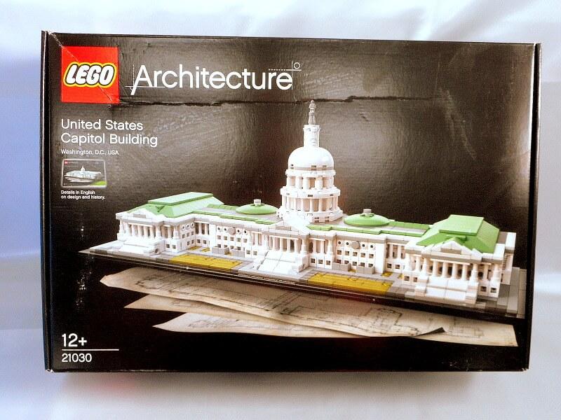 レゴ アーキテクチャー【21030  アメリカ合衆国議会議事堂