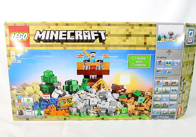 子供から大人まで夢中になるレゴの世界!マインクラフトは細かいブロックが多く、様々な組み合わせで無限に楽しめます!