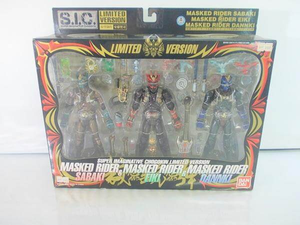 SIC Limited Ver. 仮面ライダーサバキ&エイキ&ダンキ