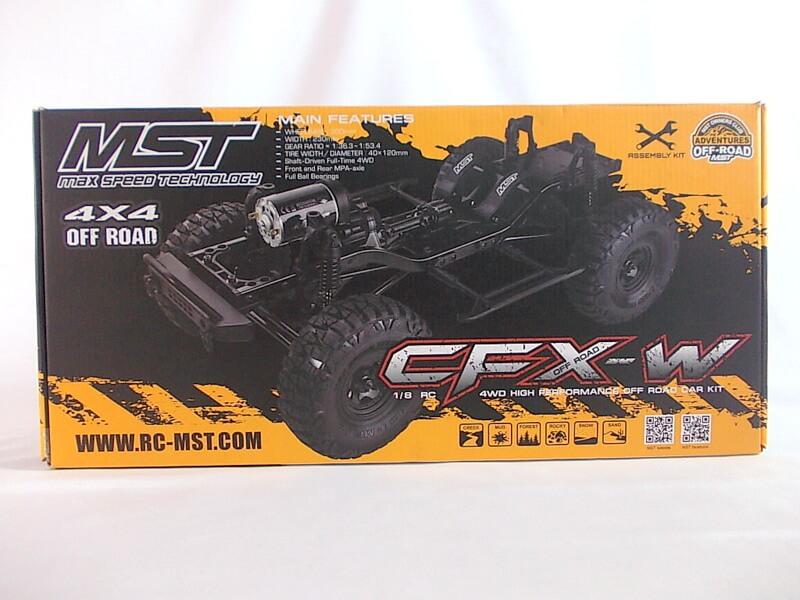 MST 1/8【4WDオフロードクローラー CFX-W】