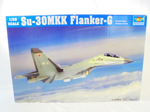 トランペッター 1/32 Su-30MKK フランカー G