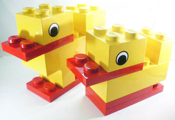 LEGO-レゴ ジャンボフィグ あひる