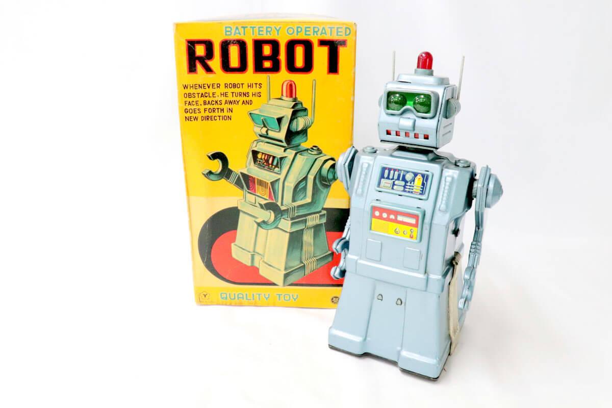 米澤玩具 BATTERY-OPERATED-ROBOT