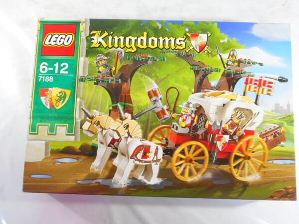 レゴキングダム 【7188 王様の馬車を待ちぶせ】