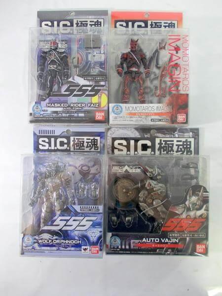 S.I.C.極魂 仮面ライダー555 ウルフオルフェノク オートバジン
