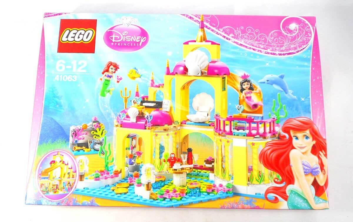 レゴ ディズニー プリンセス41063 アリエルの海の宮殿