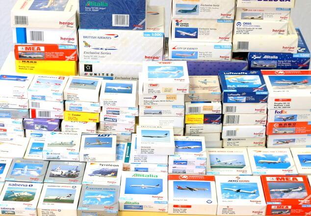 ヘルパ|herpa 飛行機模型 買取 1/400 1/500 1/200 民間航空機 軍用機 ミニカー