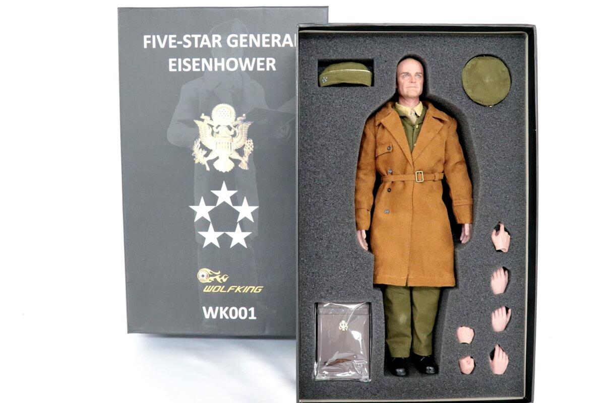 連合軍最高司令官 ドワイト.D.アイゼンハワーのフィギュア!迫力ある1体です。