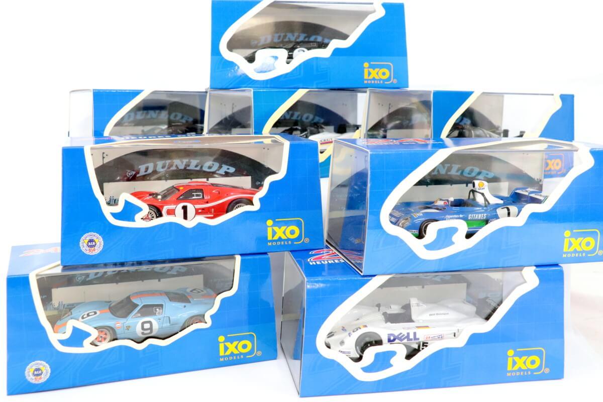 IXOのミニカーはラリーカーやレースカー・ストリートカーなど様々にラインナップございます。高価買取を行っておりますので是非お見積り下さい。