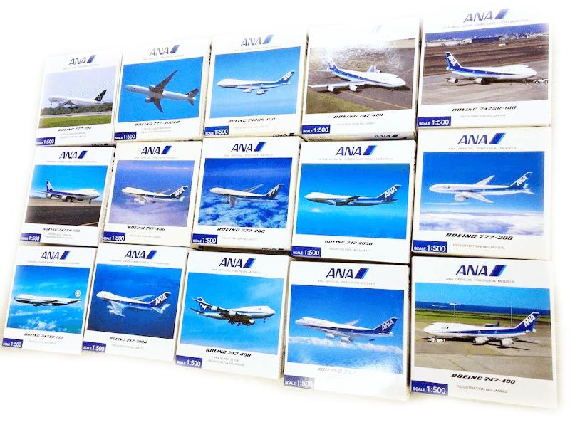 全日空商事 ANA 飛行機模型 買取 1/200 1/400 民間航空機 ミニカー