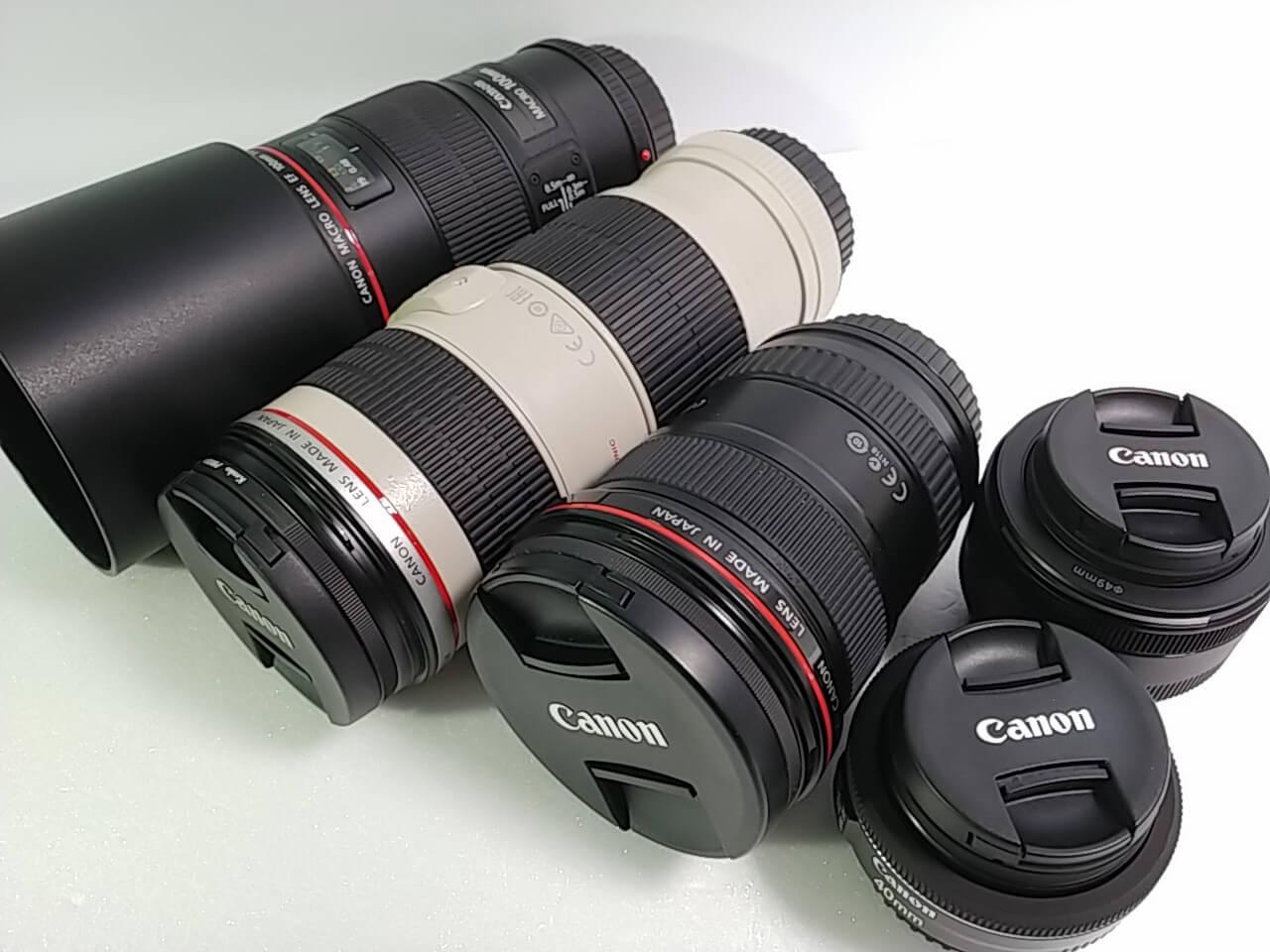 キャノン EF USM レンズなど 高価買取