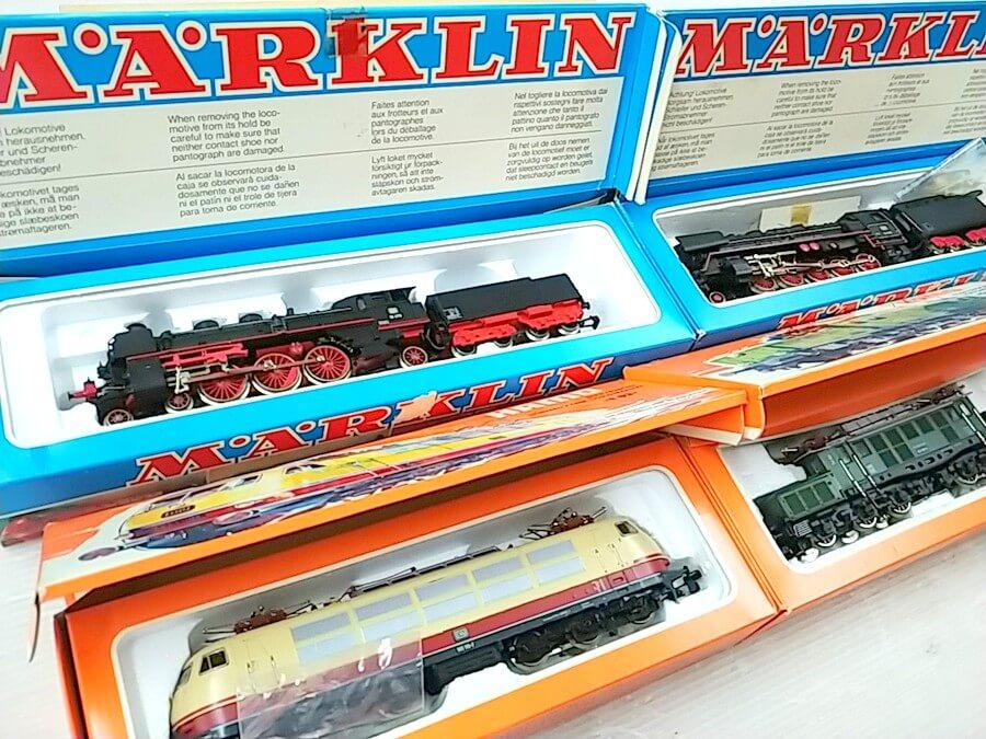 メルクリンの鉄道模型は高価買取間違いなし!大歓迎です。