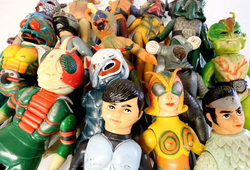 旧バンダイのソフビ人形買取