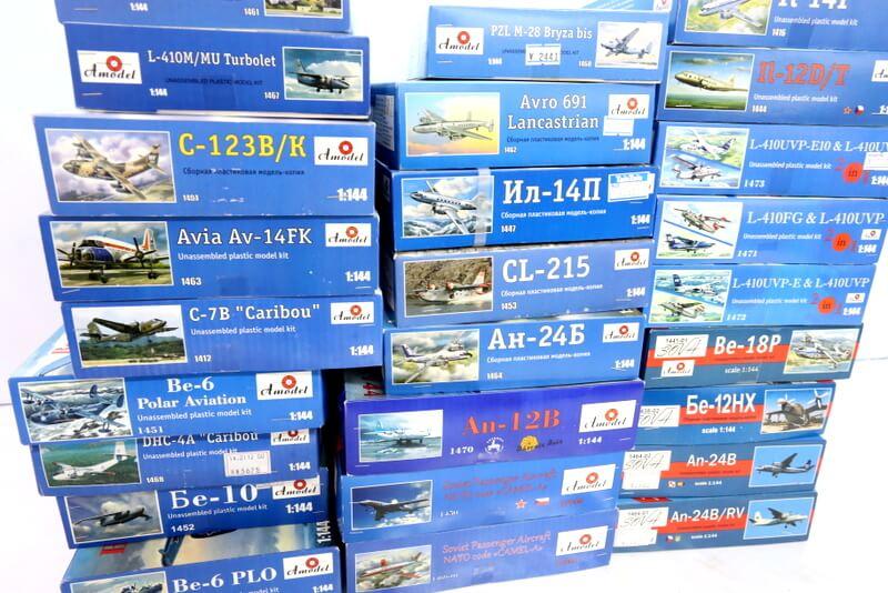 A MODELは軍用機から民間機まで個性豊かな航空機模型をプラモデル化しています。高価買取いたしますのでまずは、お見積りを!