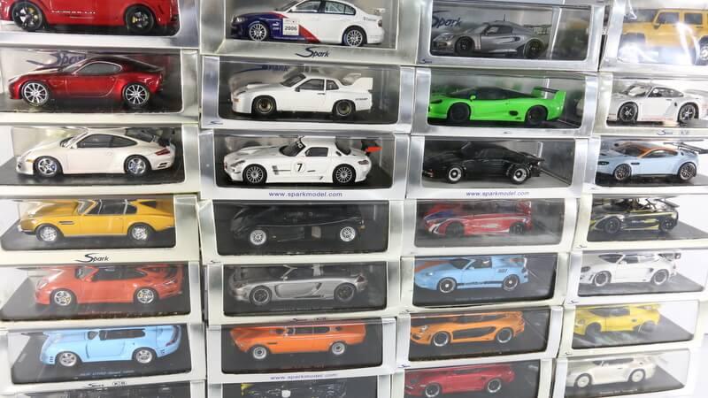 ル・マン・シリーズのスパーク社製のポルシェは大変に人気があります。