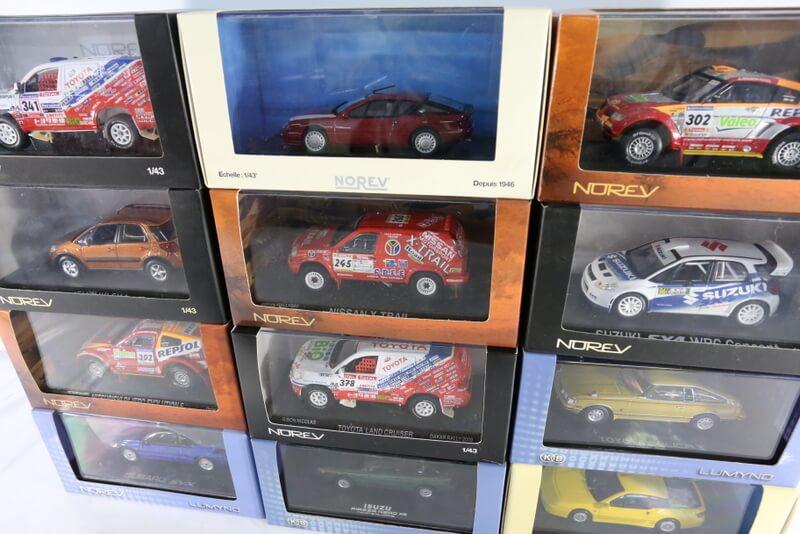 フランス産のノレブのミニカー 様々にラインナップあり目移りしますよねー♪高価買取いたしますのでご連絡下さい。