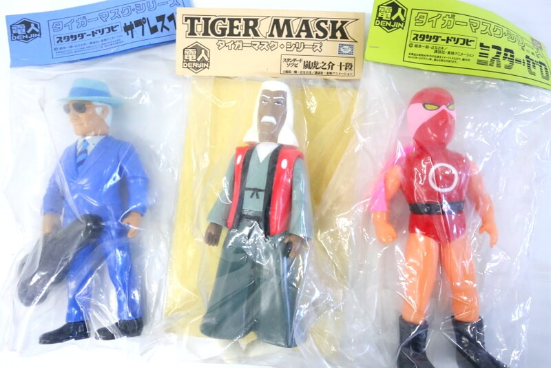 個性豊かな電人のソフビ タイガーマスクシリーズをはじめ、高価買取必須ですのでまずはお見積りください。