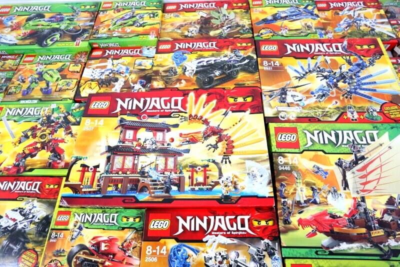 レゴ ニンジャゴーを大量買取