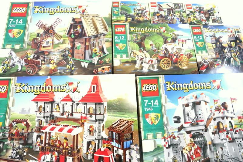 レゴキングダム 中世ヨーロッパのワクワクするラインナップ ナイトキングダム城が人気です!