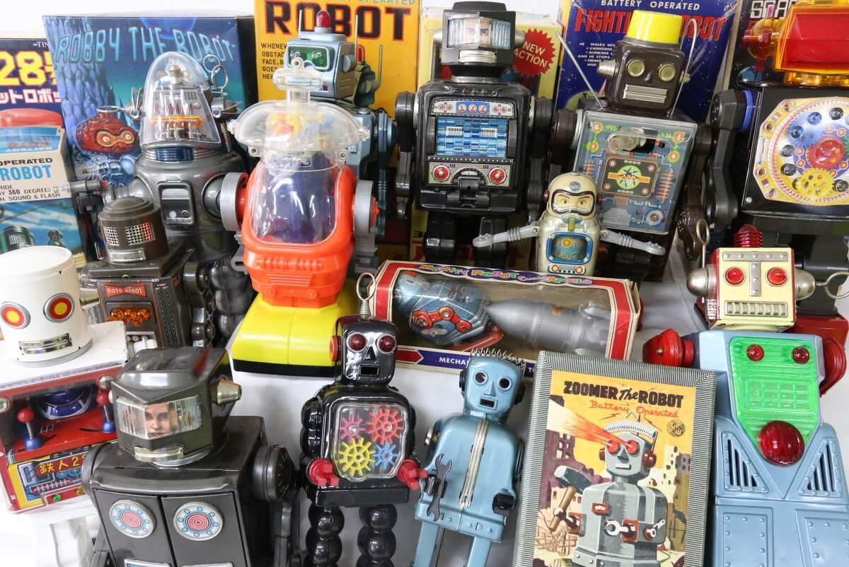 ブリキ ロボット高価お買取りいたします!