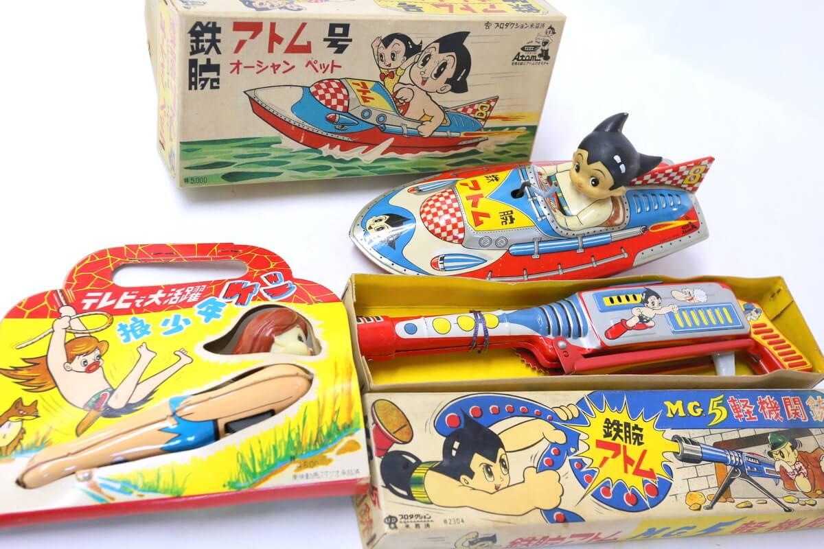アトムでお馴染みの多田のブリキ玩具を高額買取いたします。