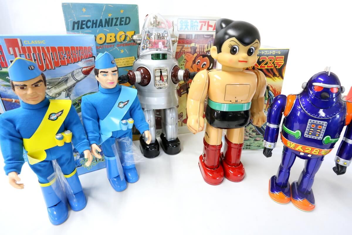 大阪ブリキのおもちゃを高価買取いたします。