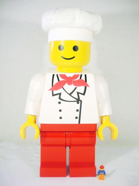 レゴ-【ジャンボフィグ-パン屋さん-アンデルセン】